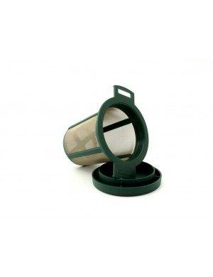 Filtre plastique vert